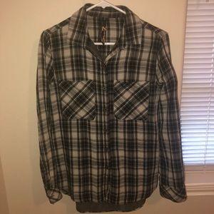 SEVEN 7 plaid shirt
